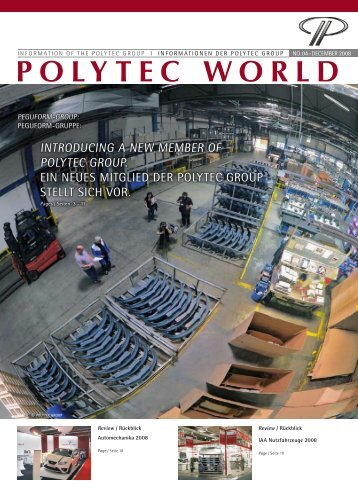 Introducing a new member of POLYTEC GROUP