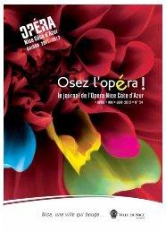 Télécharger le journal au format pdf - Opéra de Nice