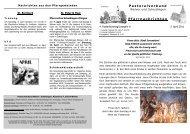 27. März bis 3. April 2011 - Pastoralverbund Welver-Scheidingen