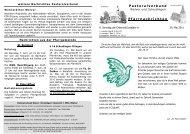 29. Mai bis 05. Juni 2011 - Pastoralverbund Welver-Scheidingen