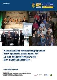 Kommunales Monitoring-System zum Qualitätsmanagement in der ...