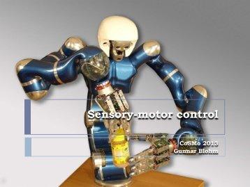 Blohm sensory-motor lecture - Bayesian Behavior Lab