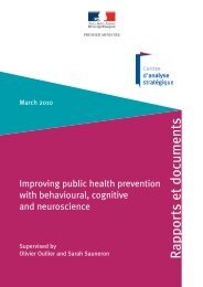 Improving public health prevention with behavioural, cognitive and
