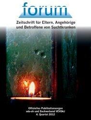4. Quartal 2012 - ada-zh Angehörigenvereinigung Drogenabhängiger ...