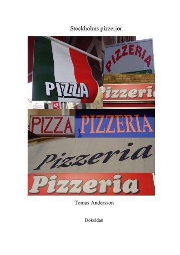 Stockholms pizzerior - Boksidan