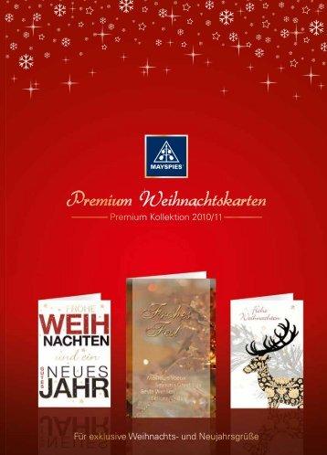 Premium Weihnachtskarten - May und Spies GmbH & Co. KG
