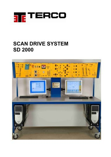 SCAN DRIVE SYSTEM SD 2000 - Terco