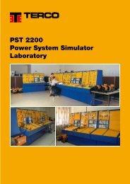 PST 2200 Power System Simulator Laboratory - Terco
