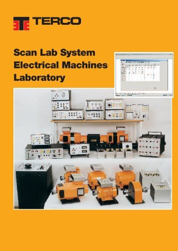 Scan Lab System Electrical Machines Laboratory - Terco