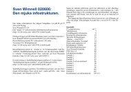 Sven Wimnell 020606: Den mjuka infostrukturen. - Wimnells