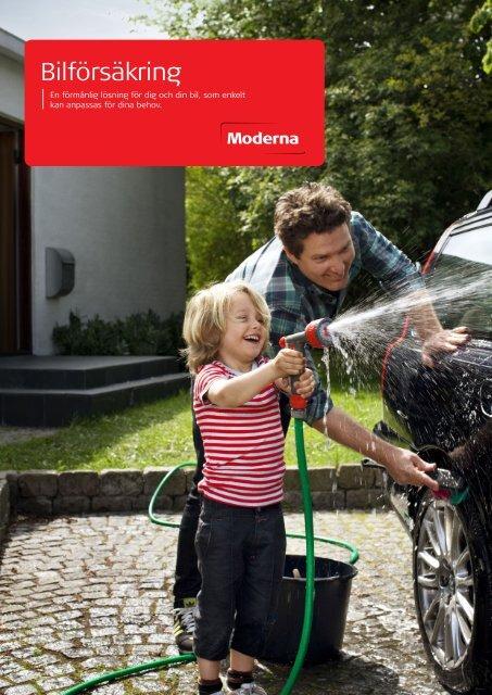 Bilförsäkring - Moderna Försäkringar
