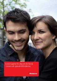 Produktinformation kring privat sjukvårdsförsäkring - Moderna ...