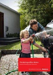 Försäkringsvillkor Motor - Moderna Försäkringar