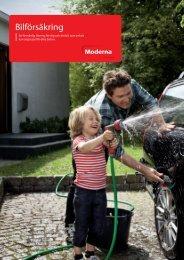 Produktblad Bilförsäkring - Moderna Försäkringar