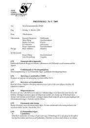 Styrelsemöte 5 - Övre Norra Bilsportsförbundet