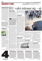 Dagens Nyheter, 30 Maj 2009 - SCHÜTTKUS!