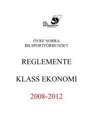 Rally Klass Ekonomin2008-2012 - IdrottOnline Förbund - en del av ...