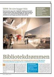 Les om Bibliotekdrømmen - Deichmanske bibliotek