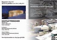 Last ned pressepresentasjon av nytt hovedbibliotek i Bjørvika