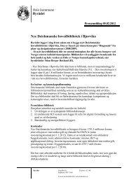 Pressemelding - Deichmanske bibliotek