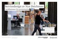 Servicedesign av Nye Deichman - Prototyping - Deichmanske ...