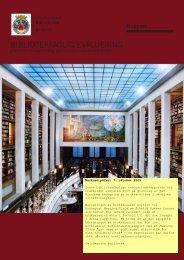 Bibliotekfaglig evaluering av byggene - Deichmanske bibliotek