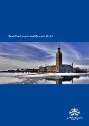 Q4 2012 - Kammarkollegiet