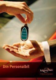 Personalbilsbroschyr - LeasePlan