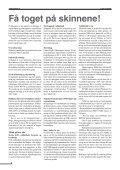 Få toget på skinnene! - For Jernbane - Page 6