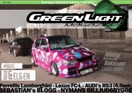 GreenLight Magazine #1 - 2015