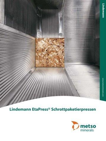 Lindemann EtaPress® Schrottpaketierpressen - Metso