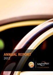 Download full Annual Report 2012(pdf) - LeasePlan