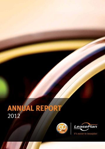 Download full Annual Report 2012(pdf) - LeasePlan