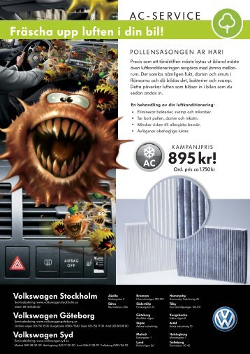 "fis"" i din bil! - Volkswagen Stockholm"