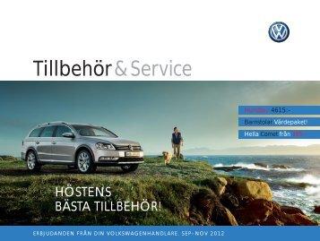 Tillbehör & Service - Volkswagen