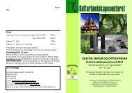 Kulturlandskapsseminaret 2011 - Nordisk Kulturlandskapsforbund