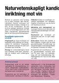 Kandidatutbildning i vin i Sverige? - Institutionen för geovetenskaper - Page 2