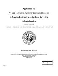 Application for Professional Limited Liability Company Licensure to ...