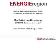 Einsatz von Kraft-Wärme-Kopplung - Kommunale Allianz Biberttal ...