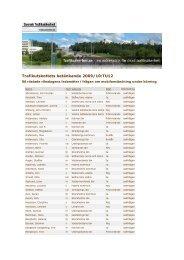 Trafikutskottets betänkande 2009/10:TU12