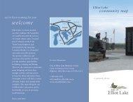Community map - City of Elliot Lake