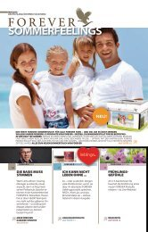 SoMMERfEElINgS - Forever Living Products Austria