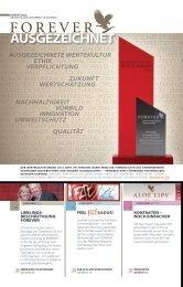 AUSGEZEICHNET - Forever Living Products Austria