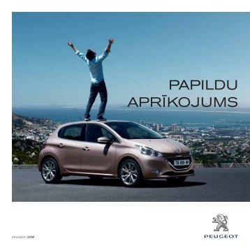 iekārtas - Peugeot