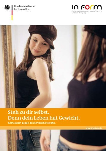 Steh zu dir selbst. Denn dein Leben hat Gewicht. - Bertelsmann BKK