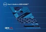 User's Guide to WEB•HOME™ - Danfoss.com