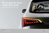 On a grand tour with the kids. - Audi