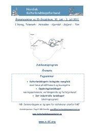 www.n-kf.org Jubileumsprogram Årsmøte Fagseminar