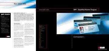 Flyer Qualified Partner Program, 2010 - R&M Connections