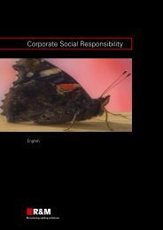 Corporations assume responsibility, 2010 (pdf ... - R&M Connections